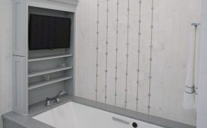 Contemporary Classic Bathroom Remodel in Chapel Hill