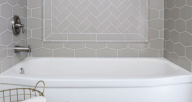 Jeffrey Court Showroom Designer Collections - 4x6 wall tile