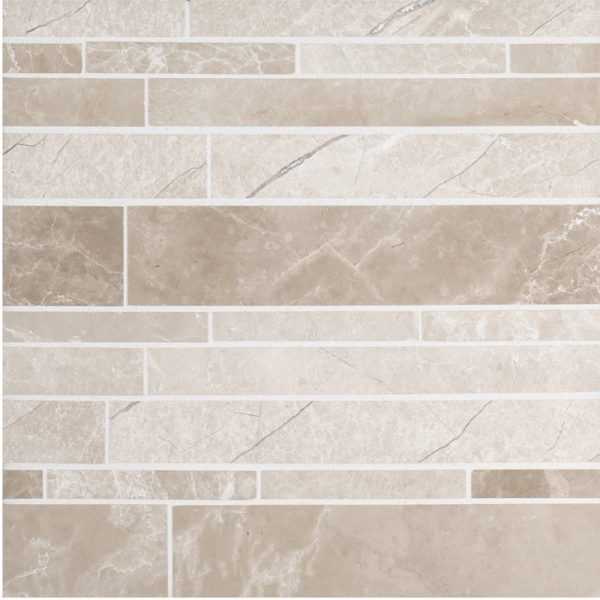 A Beige Cream Natural Stone Mosaic Mesa Tile By Jeffrey Court