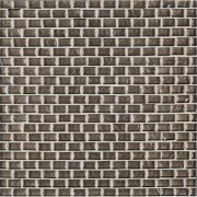 A brown glass mosaic belle mare tile by Jeffrey Court.