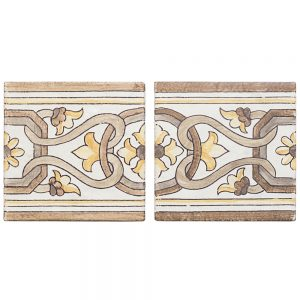 Alentejo Pattern – Terra – 5 in. x 5 in. x 10 mm – (40110)