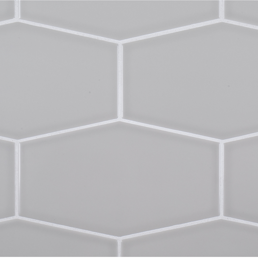 525 x 9 ceramic hex field tile grey jeffrey court tile a grey ceramic hex field tile by jeffrey court dailygadgetfo Image collections