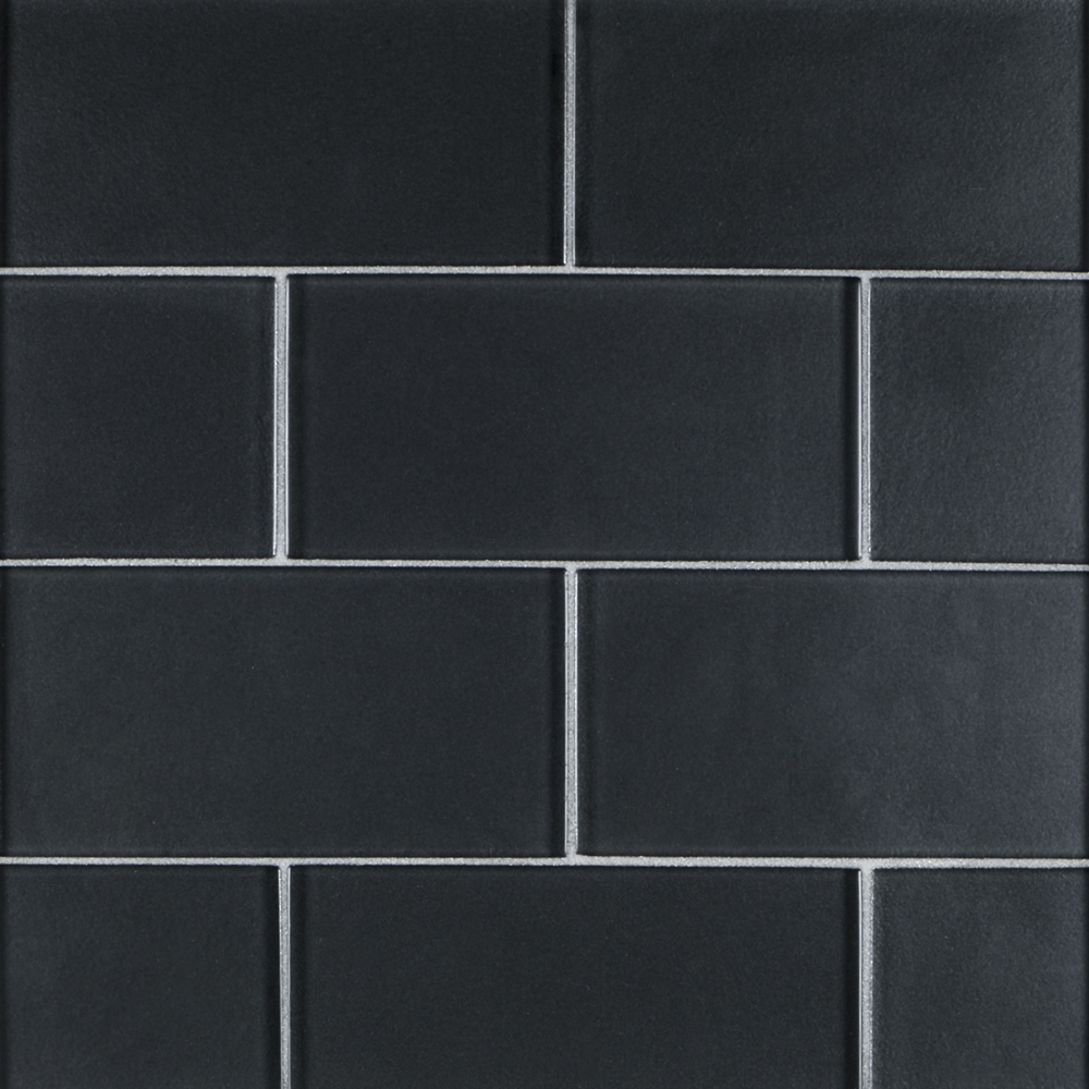 3 x 6 glass field tile grey jeffrey court tile for Back painted glass tile
