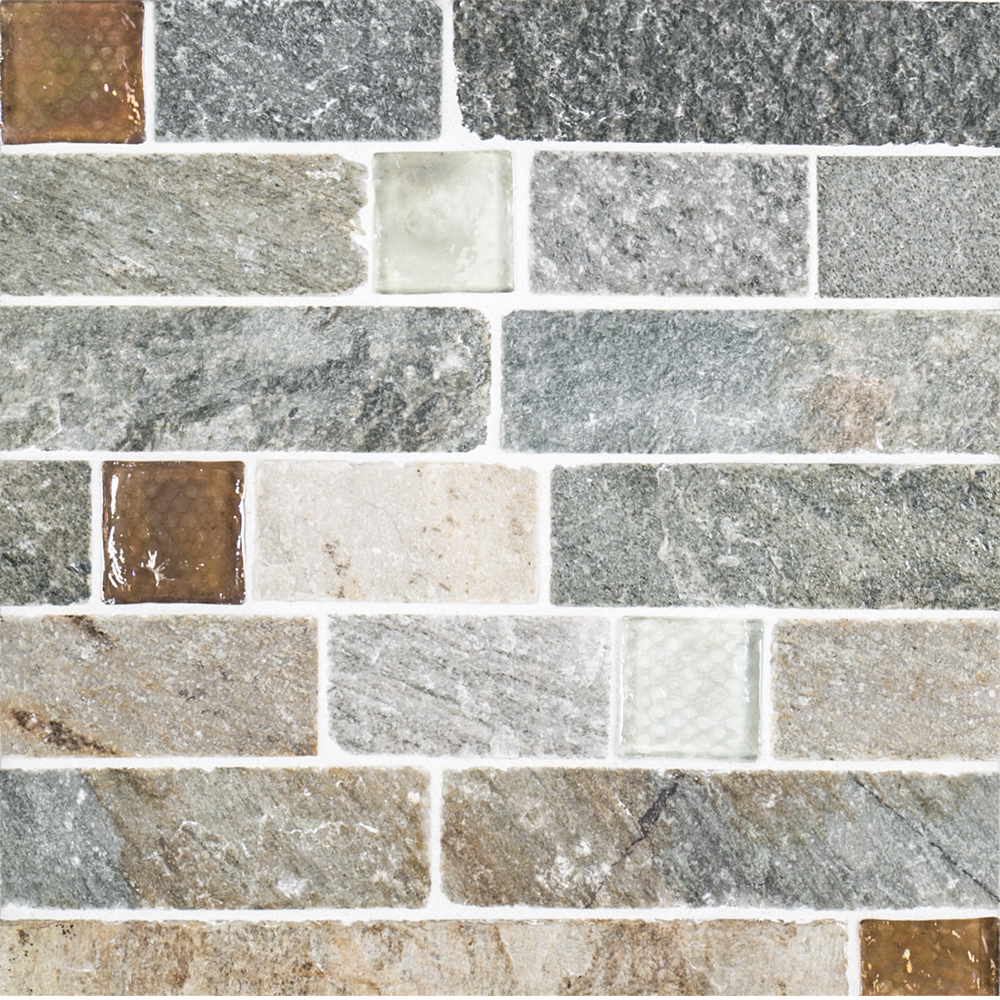105 X 1175 Natural Stone Fire Ice Brick Multispecialty