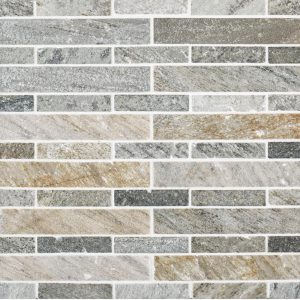A multi-specialty natural stone mosaic spiritual stone tile by Jeffrey Court.