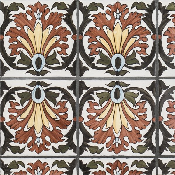 Litoral Pattern - Contempo - 5 in  x 5 in  x 10 mm - (40308)