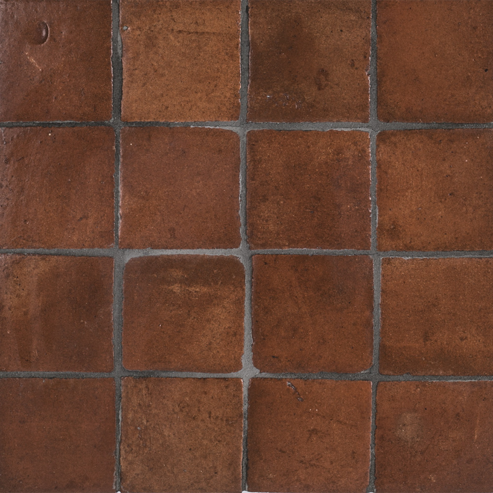 3 Quot X 3 Quot Terra Cotta Stained Insert Red Jeffrey Court Tile
