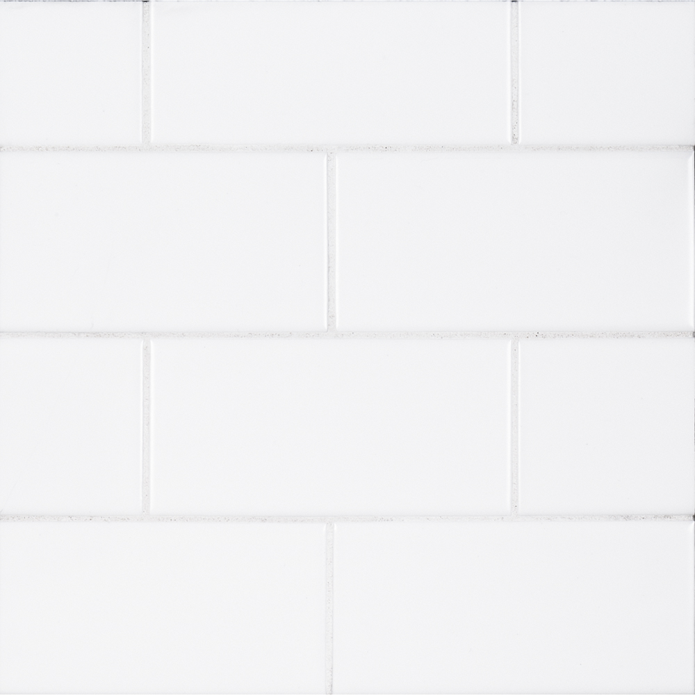 3 Quot X 6 Quot Ceramic Field Tile White Jeffrey Court Tile