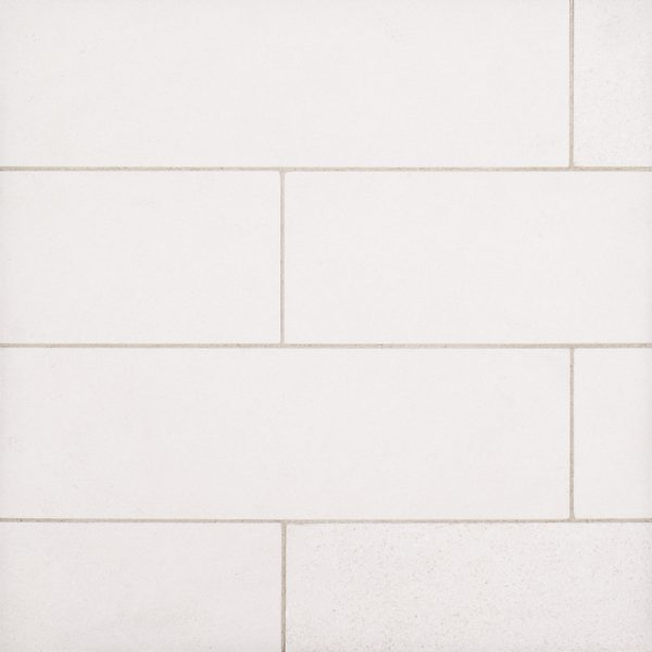 A beige / cream natural stone field tile by Jeffrey Court.
