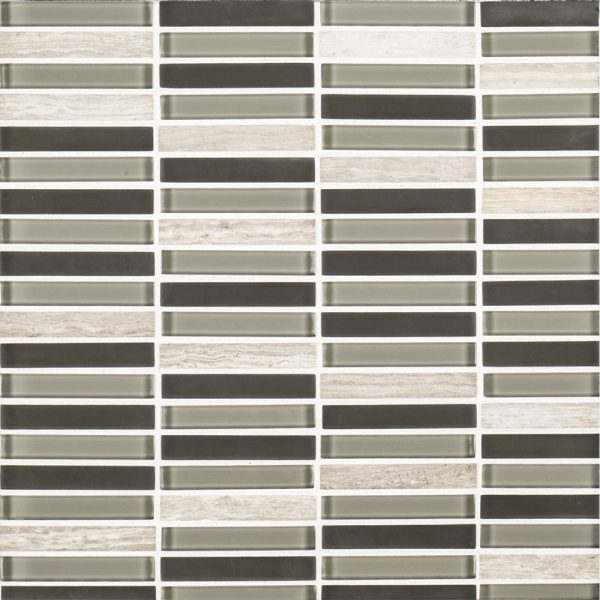 Grey Glass Perfecta Blend Tile