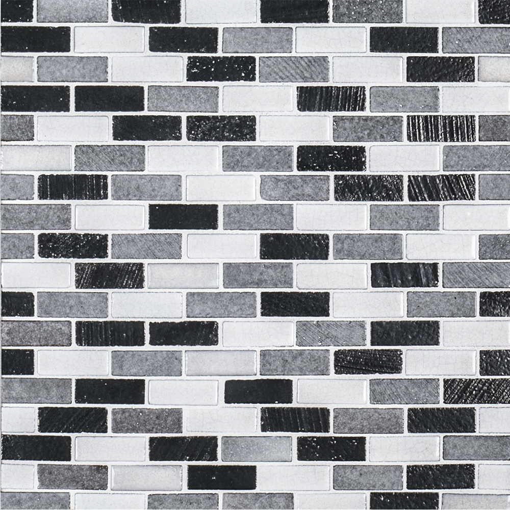 "Kitchen Wall Tiles Types: 11.375"" X 11.625"" Natural Stone Mini Brick"
