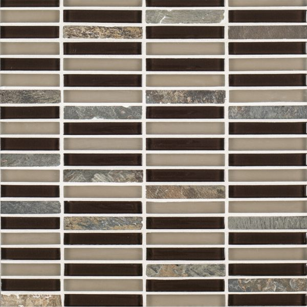 X glass perfecta blend multi specialty for Back painted glass tile