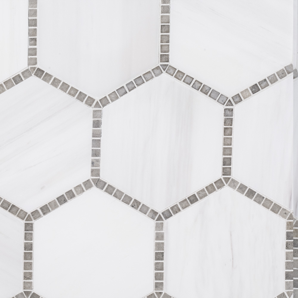 975 X 11 Natural Stone Olympia Mosaic White Jeffrey Court Tile