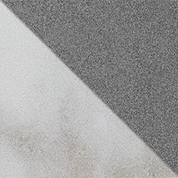Marble and Grey Concrete